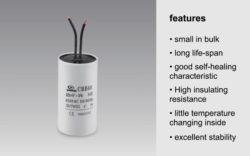 AC runnimg capacitor resin for sealing