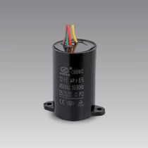 capacitor for motor en60252 polypropylene capacitor cbb60 100uf 450v sh itelcond capacitor