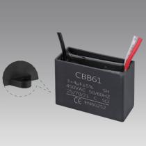 film capacitors 10uf 400v cbb61 ac motor run capacitor ceiling fan capacitor 3 wire price