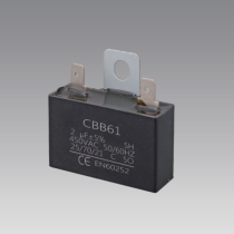 ac motor wiring fan capacitor 4uf 450vac capacitor 50/60hz cbb61 350v capacitor