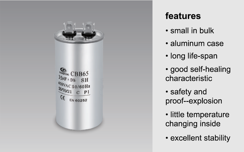 CBB65 capacitor features