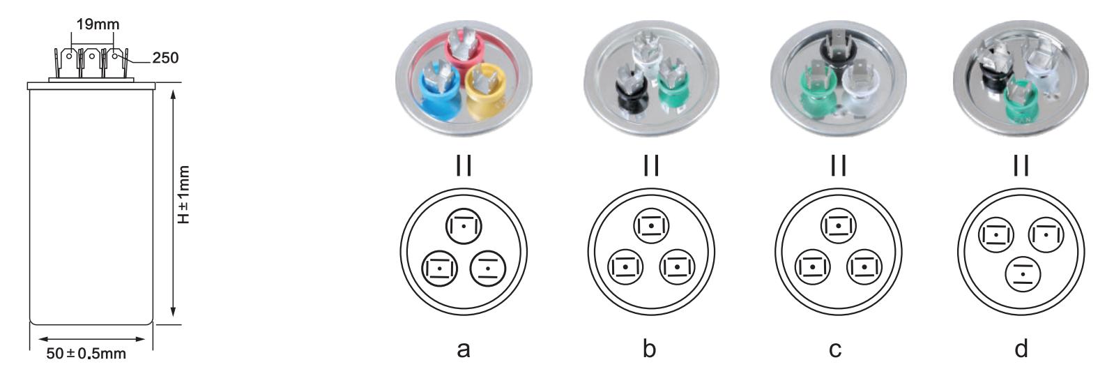 cbb65 capacitor for air-conditioner anatomy