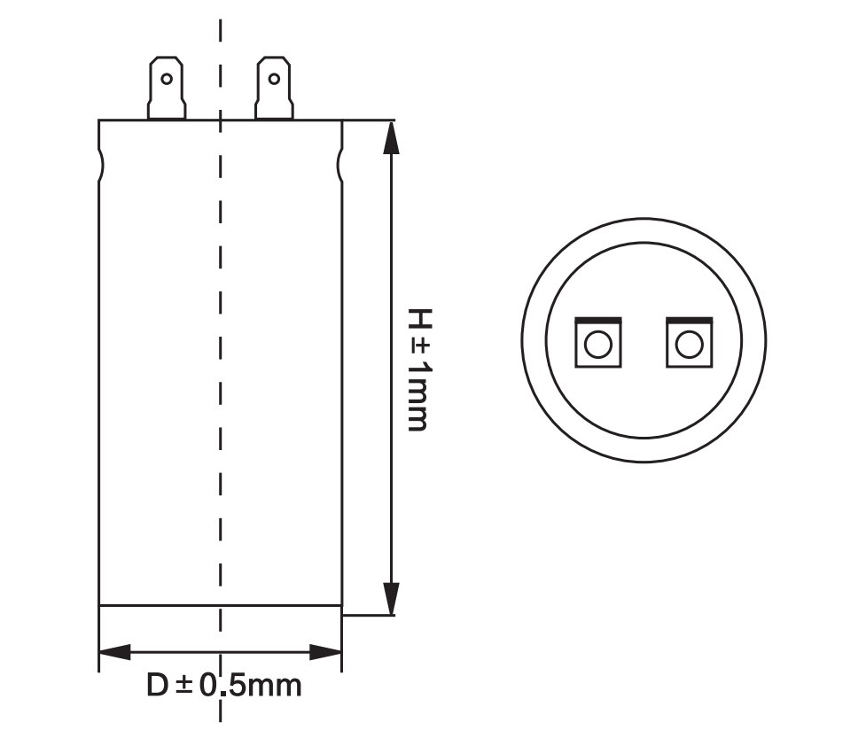motor starting capacitor anatomy