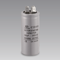 250v 100uf cd60 motor starting capacitor with 4 pins terminal lowes aluminum electrolytic capacitor