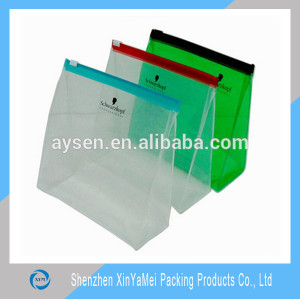 Hot sale clear slider plastic bag zip lock bags for sale