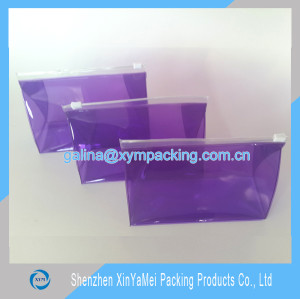 Factory Supply PVC Zip Lock Bag