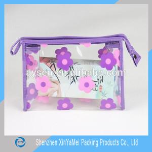 Promotional fashion Girl Zipped Travel Cosmetic Bag