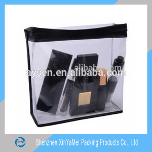 New style colorful printing cute clear pvc cosmetic bag