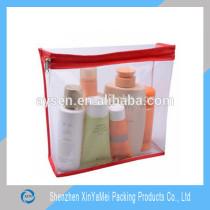 Custom new design pvc cosmetic bag , promotional cosmetic bag , travel cosmetic bag