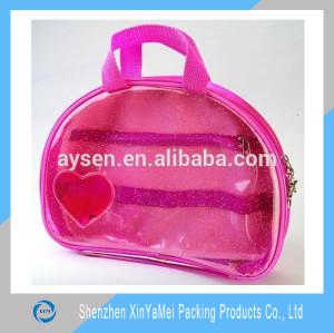 super quality shiny pvc lining waterproof bag