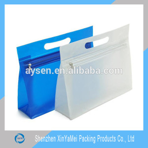 Promotional cosmetic bag Transparent PVC Zipper Toiletry Bag