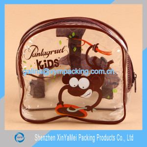 transparent pvc backpack bag