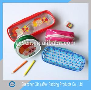 fashion double zipper pencil pouches wholesale