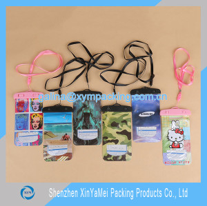 PVC Waterproof Bag for cell phone