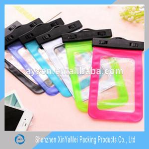 Guangdong manufacture Transparent Waterproof PVC Bag Customized PVC Bag