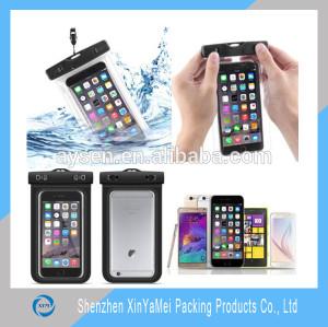 Swimming waterproof phone bag