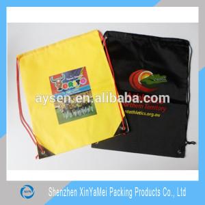 colorful drawstring backpack bag