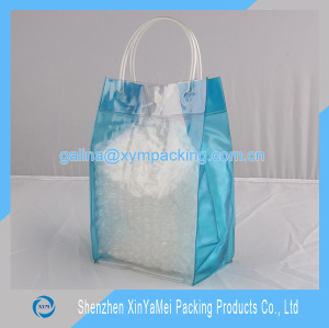 Factory custom promotion pvc wine bag