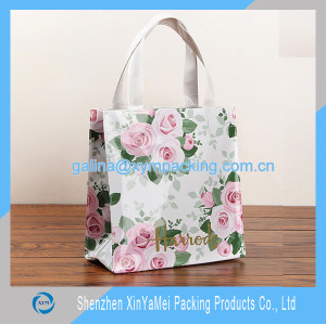 pvc hand bag for lady