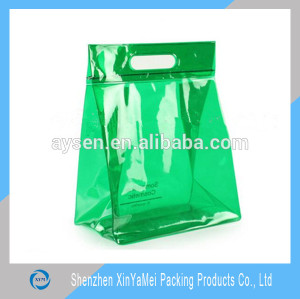 Cosmetic Industrial Use and Accept Custom Order PVC Handle bag