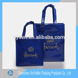 fashional customized harrods pvc bags