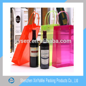 PVC Clear wine cooler bags