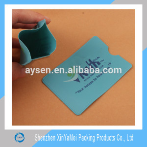 credit card plastic holder