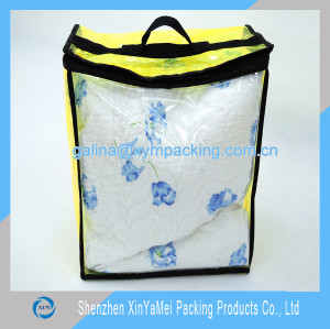 pvc bag for bedsheet packing