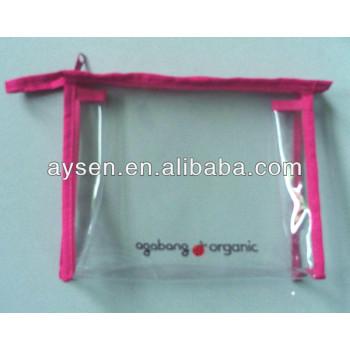 Компании производство пвх сумки с розовый связывания