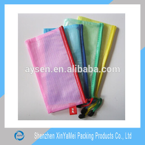 promotional pvc zip lock file bag