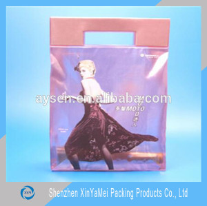 PVC Material and Bag Type transparent pvc beach bag