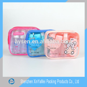 Recyclable Feature and Stand Up Pouch Bag Type clear vinyl pvc zipper bags