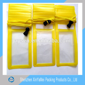 OEM plastic pvc waterproof zip lock bag