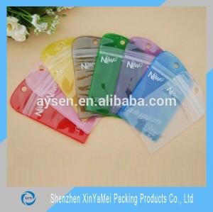 clear/navy pvc waterproof smart phone bag