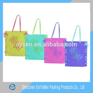 Factory Sale OEM Design floral knot hand bags wholesale