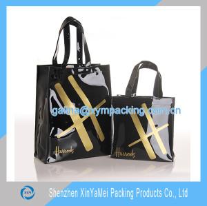 customized harrods pvc bag