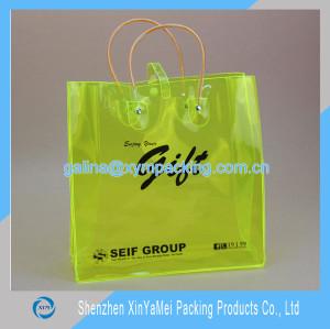 candy-colored Transparent PVC Handbag