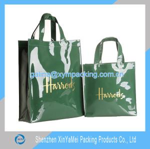 cotton coated pvc shopping bag