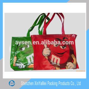 plastic gift shopping bag