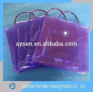 promotional clear beach tote bag
