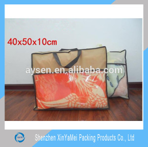 2015 new style recycle pvc non woven pillow cover bag