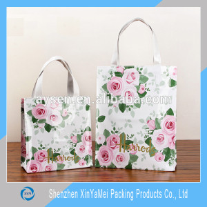 customized wholesale vinyl tote bag