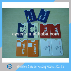 Plastic Gum PVC Credit Card Holder