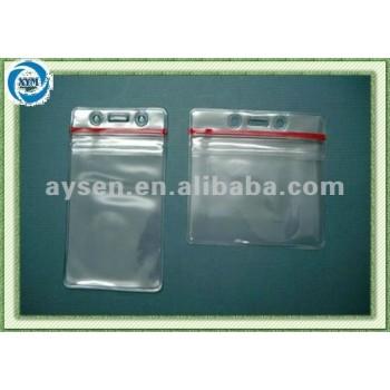 freier weicher Identifikation-Plastikhalter