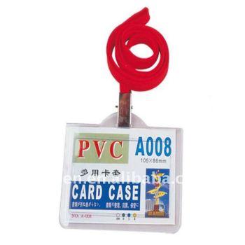 Пластиковые удостоверение личности с ремешки