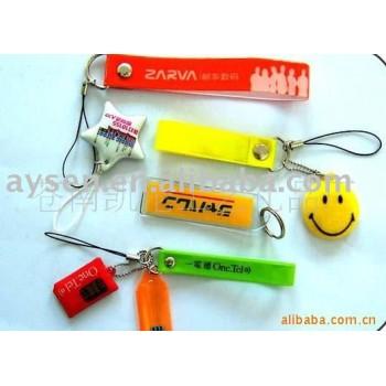 柔らかいポリ塩化ビニールの携帯電話の付属品