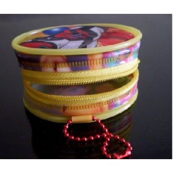 かわいいプラスチックポリ塩化ビニールの硬貨の財布