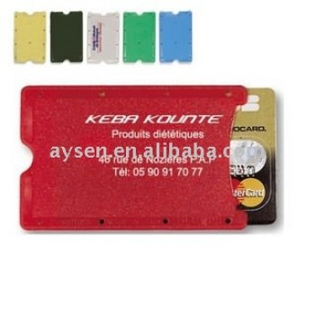Moda nueva cartera de la caja de tarjeta credito/porta vasos