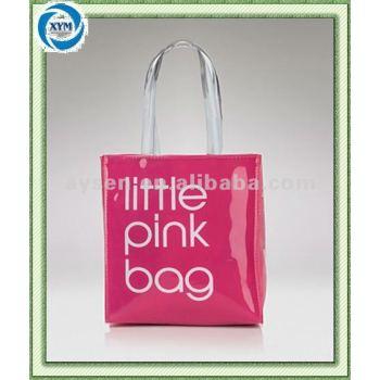 Дешевые мода пвх складной сумка