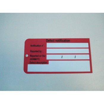 Pvc/pp plástico etiqueta del equipaje de la correa